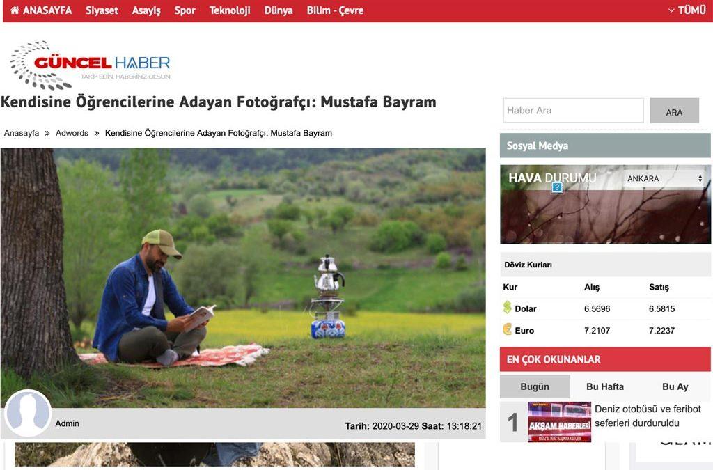 Kendisini Öğrencilerine Adayan Fotoğrafçı: Mustafa Bayram