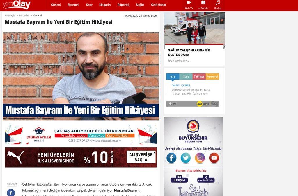 Mustafa Bayram ile Yeni Bir Eğitim Hikayesi