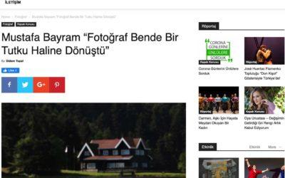 """Mustafa Bayram """"Fotoğraf Bende Bir Tutku Haline Dönüştü"""""""